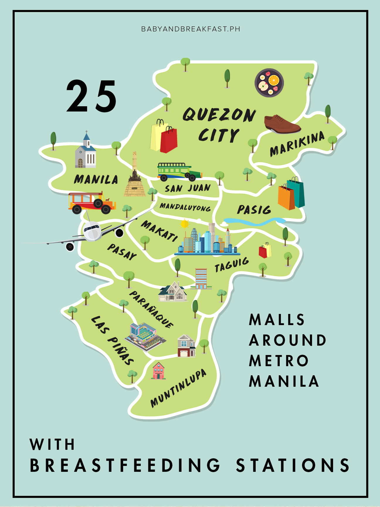 Baby and Breakfast 25 Malls Around Metro Manila with Breastfeeding Stations