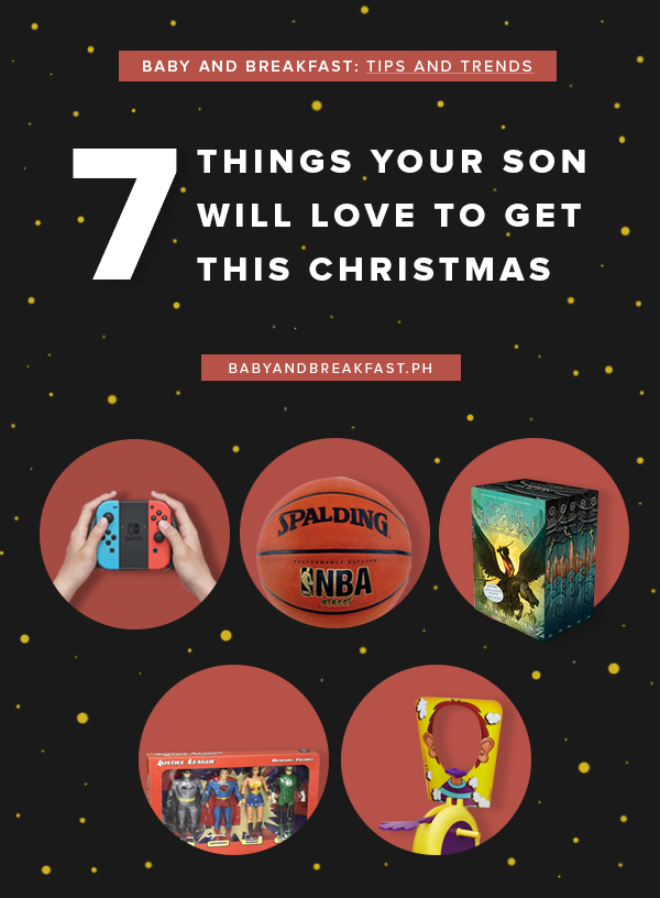 Baby and Breakfast: Tips and Trends 7 Things Your Son Will Love to Get This Christmas