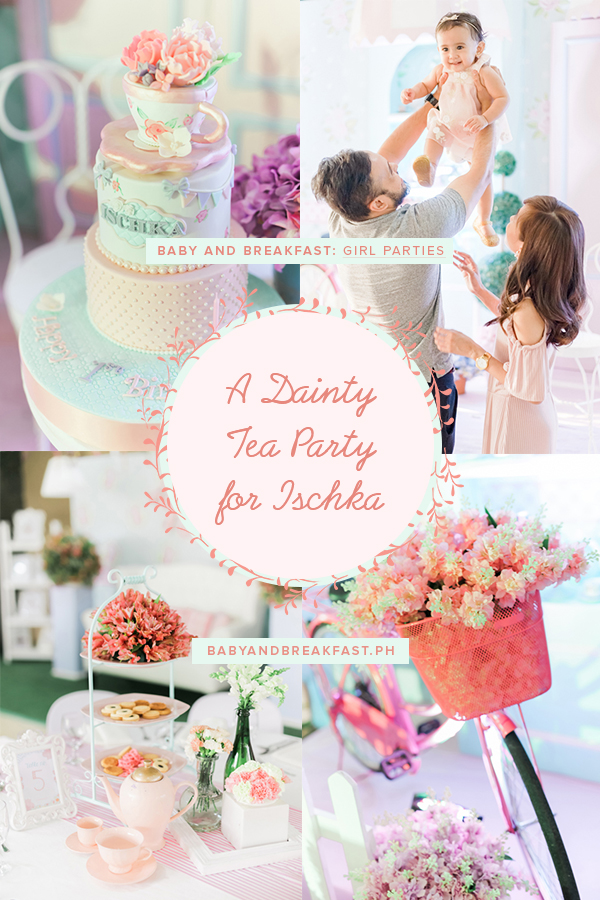 Baby and Breakfast: Girl Parties A Dainty Tea Party for Ischka
