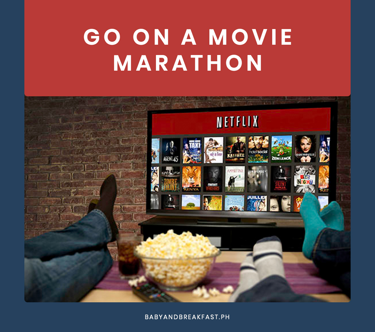 Go on a movie marathon