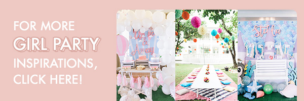For more girl party inspirations, click here!