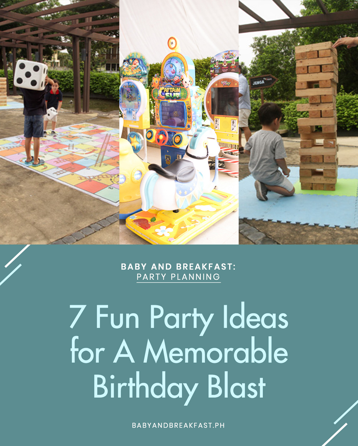 Baby and Breakfast: Party Planning 7 Fun Party Ideas for A Memorable Birthday Blast