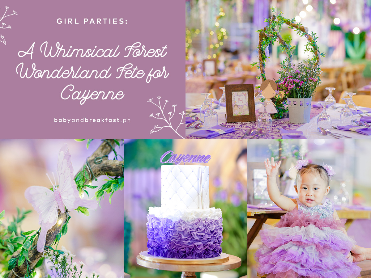 Baby and Breakfast: Girl Parties A Whimsical Forest Wonderland Fete for Cayenne