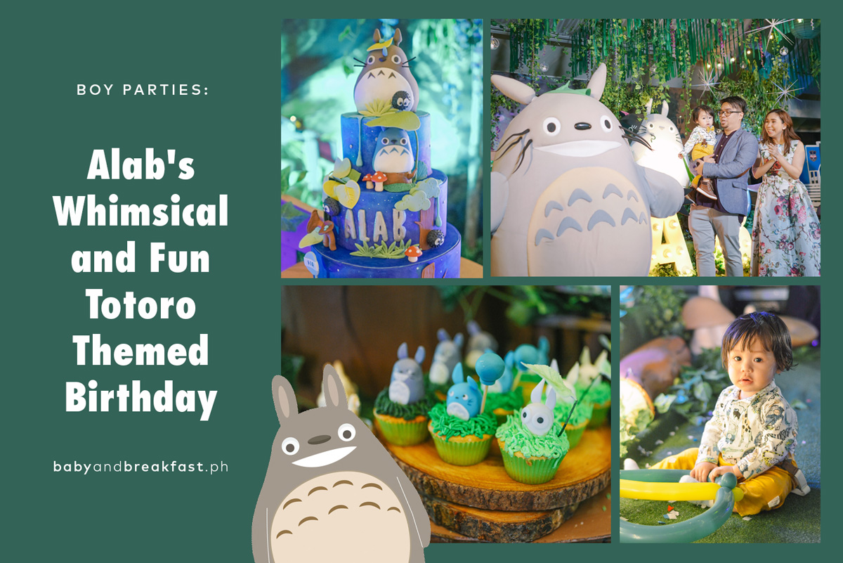 Alab's Whimsical and Fun Totoro Themed Birthday