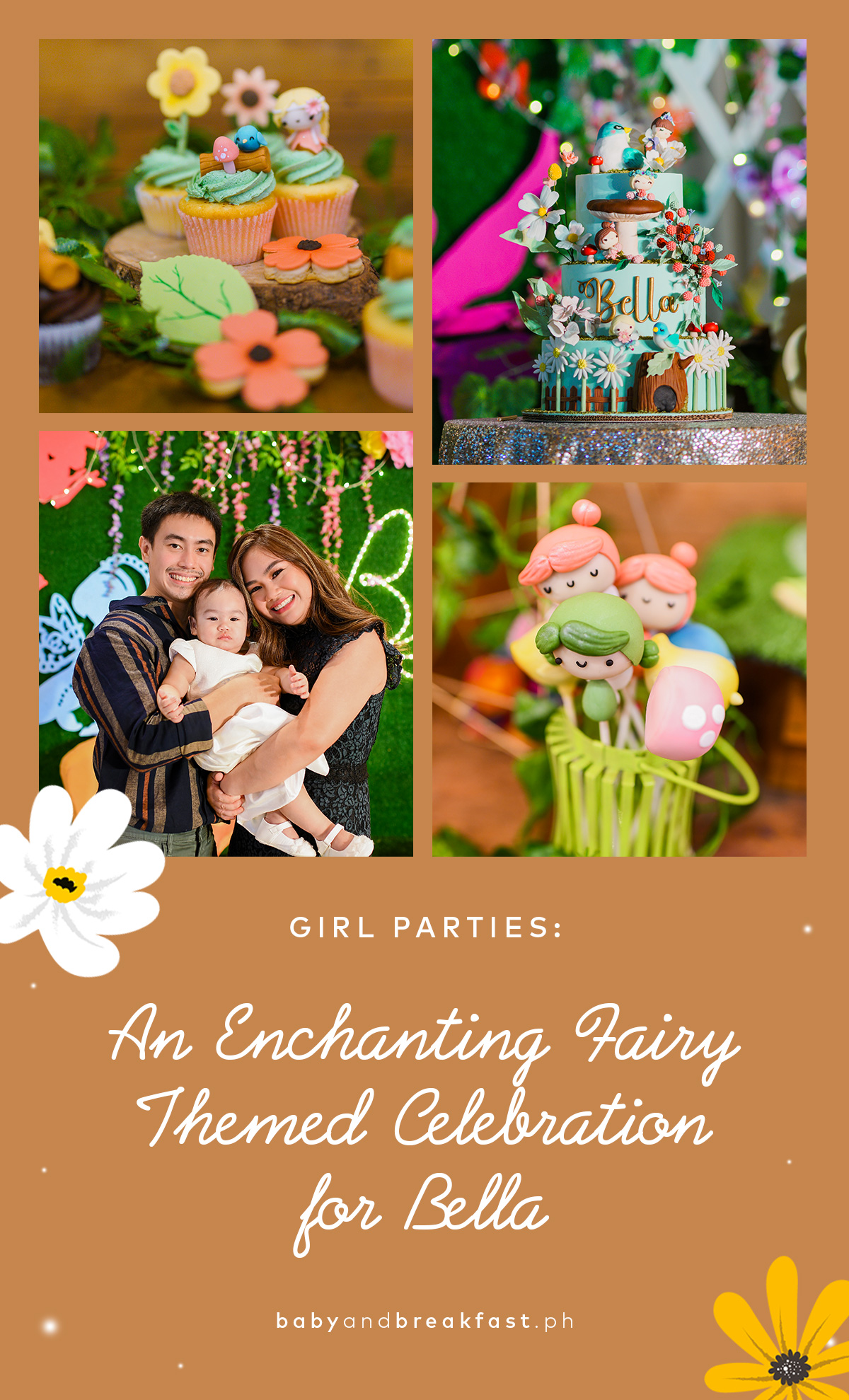 An Enchanting Fairy Themed Celebration for Bella
