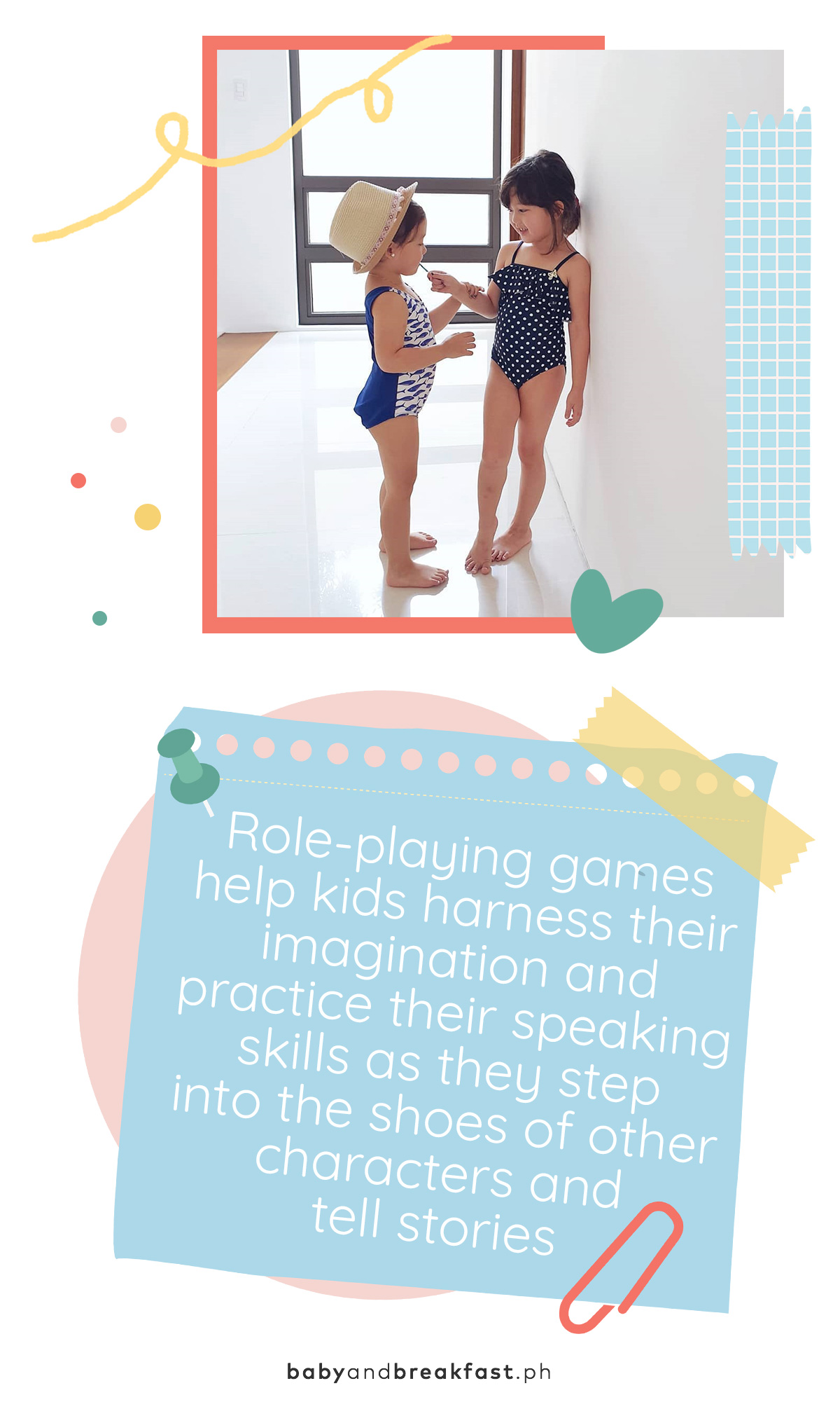 Role-playing games help kids harness their imagination and practice their speaking skills as they step into the shoes of other characters and tell stories