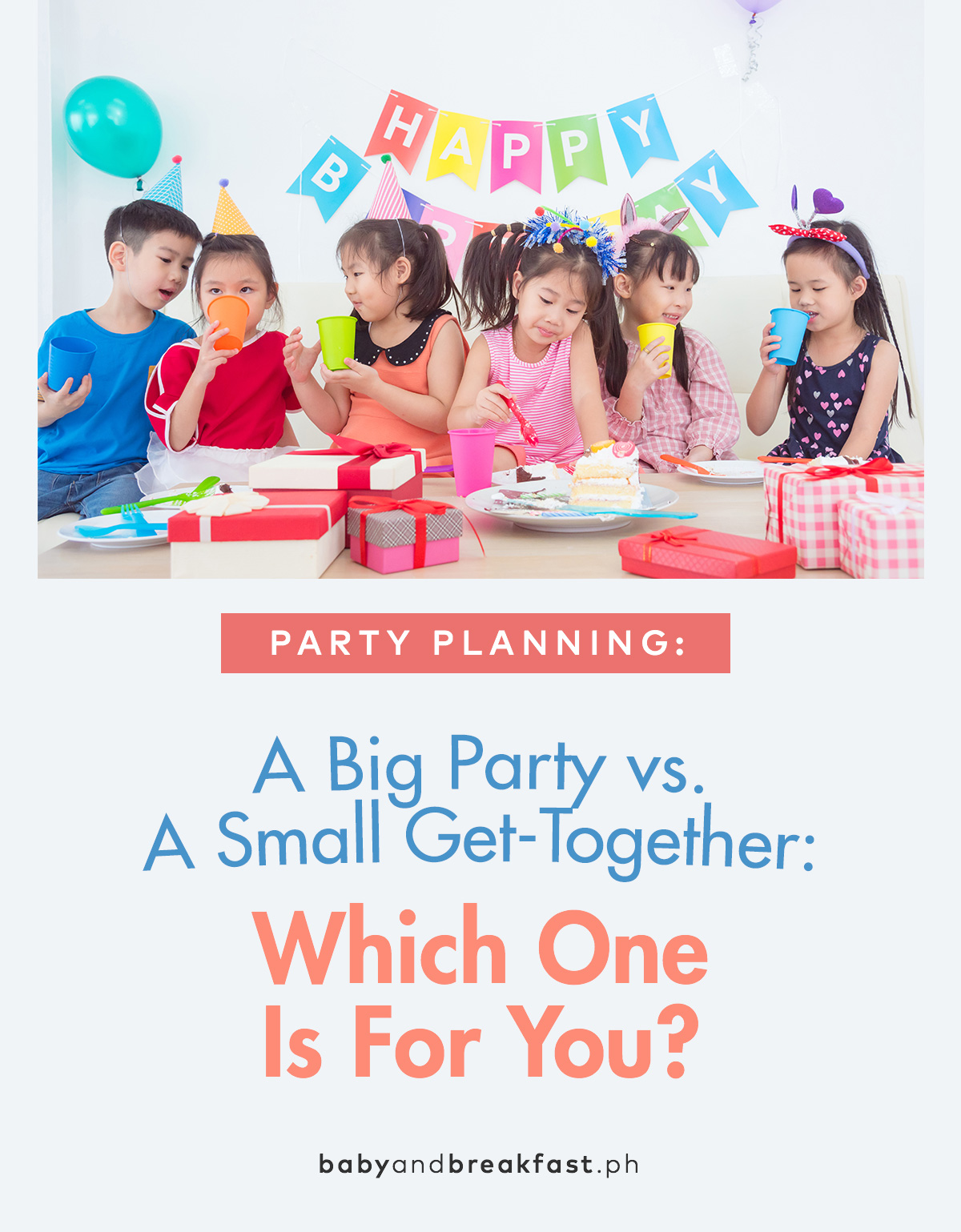 A Big Party vs. A Small Get-Together: Which One Is For You?