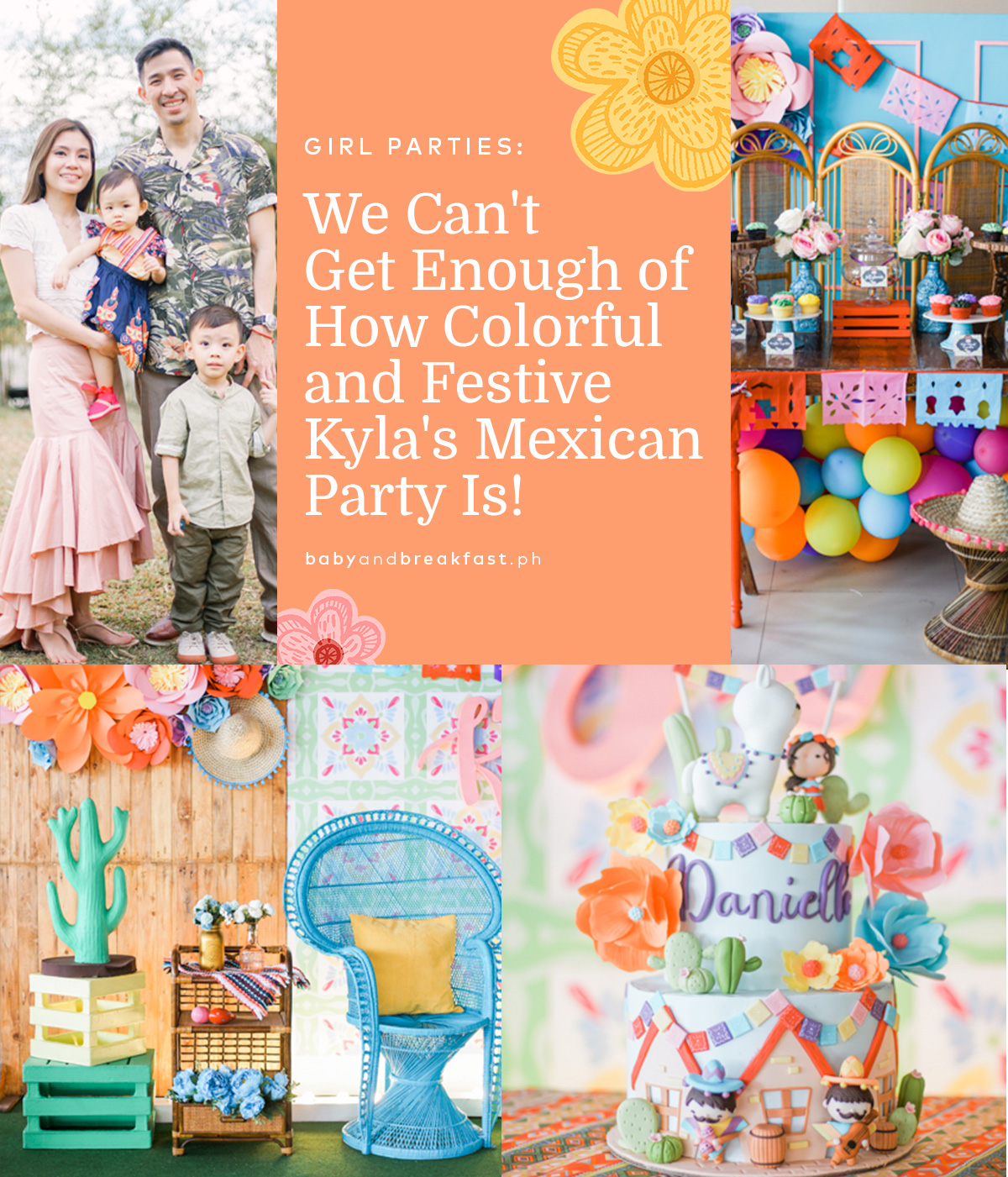 We Can't Get Enough of How Colorful and Festive Kyla's Mexican Party Is!