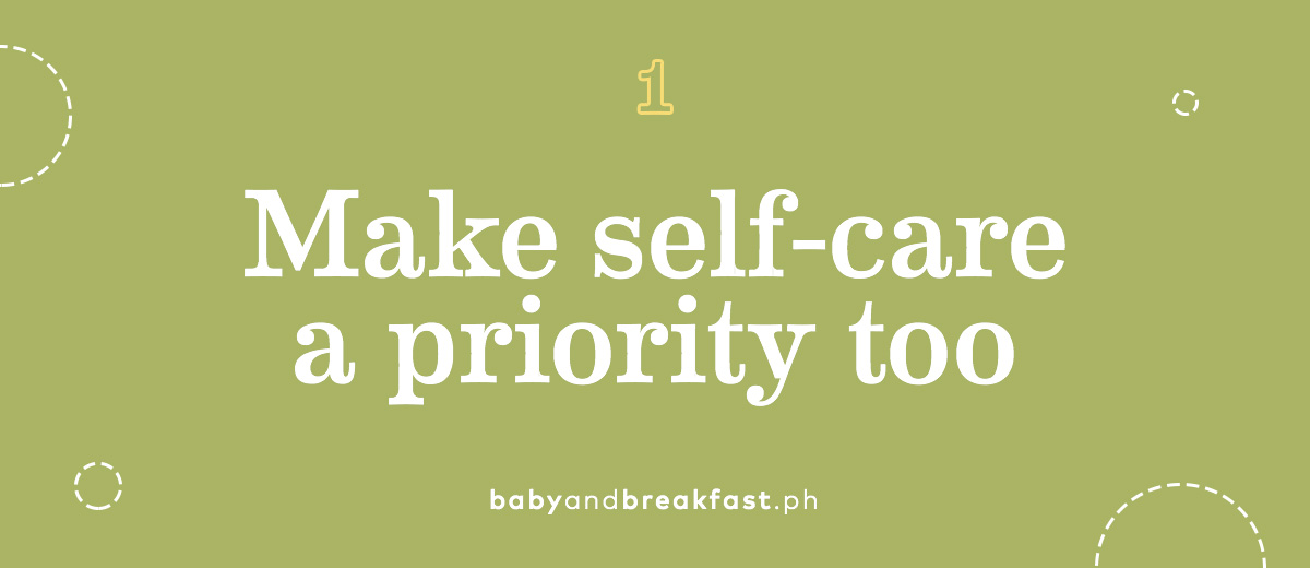Make self-care a priority too