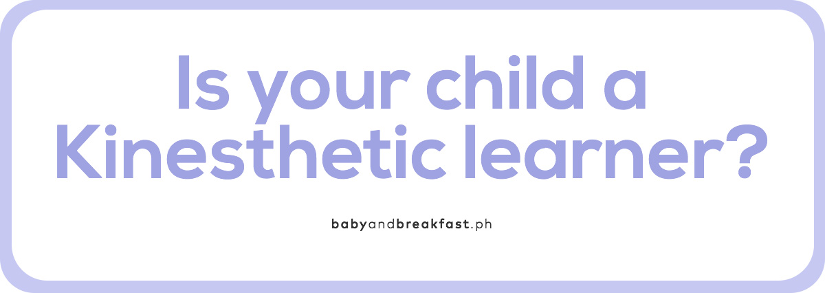 Is your child a Kinesthetic learner?