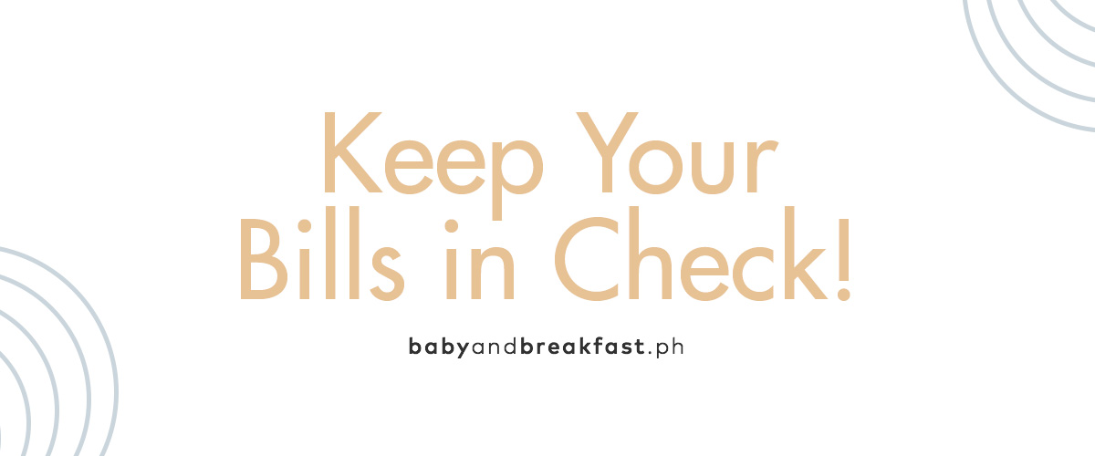 Keep Your Bills in Check!