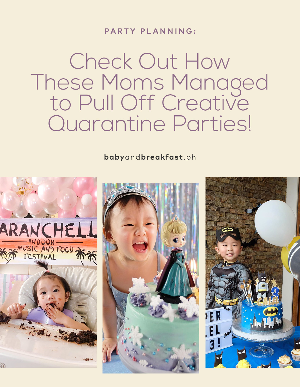 Check Out How These Moms Managed to Pull Off Creative Quarantine Parties!
