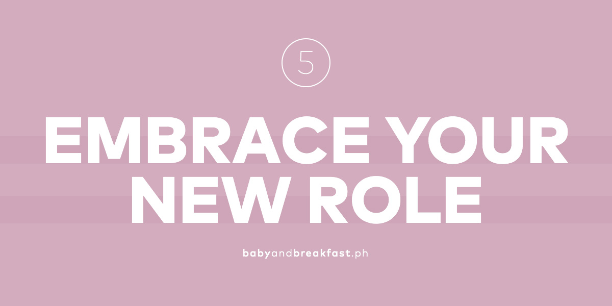 Embrace your new role