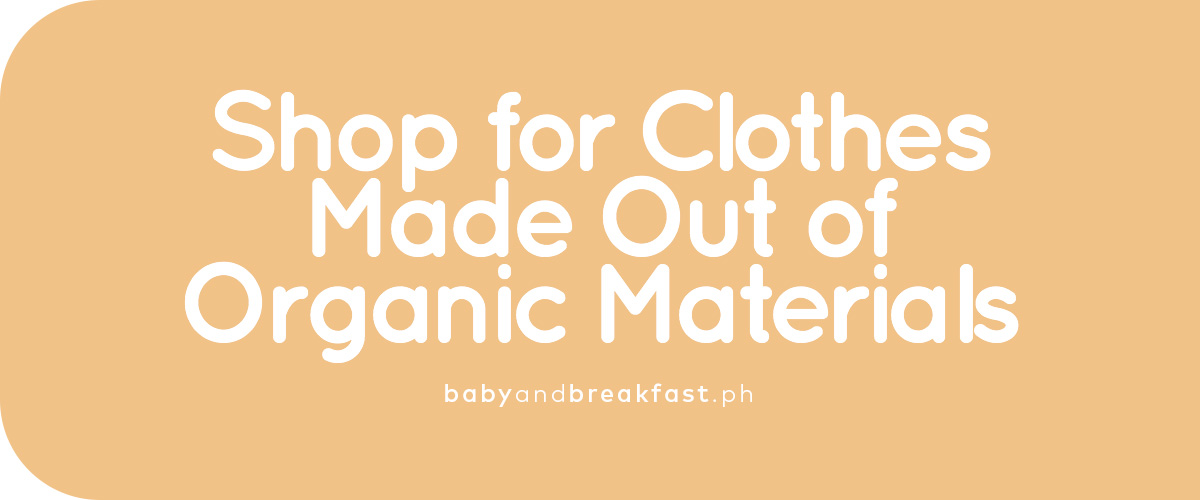 Shop for Clothes Made Out of Organic Materials