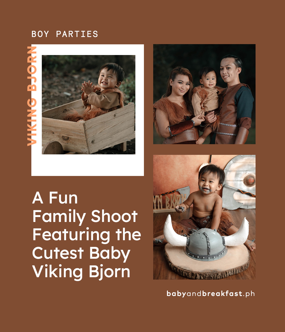A Fun Family Shoot Featuring the Cutest Baby Viking Bjorn