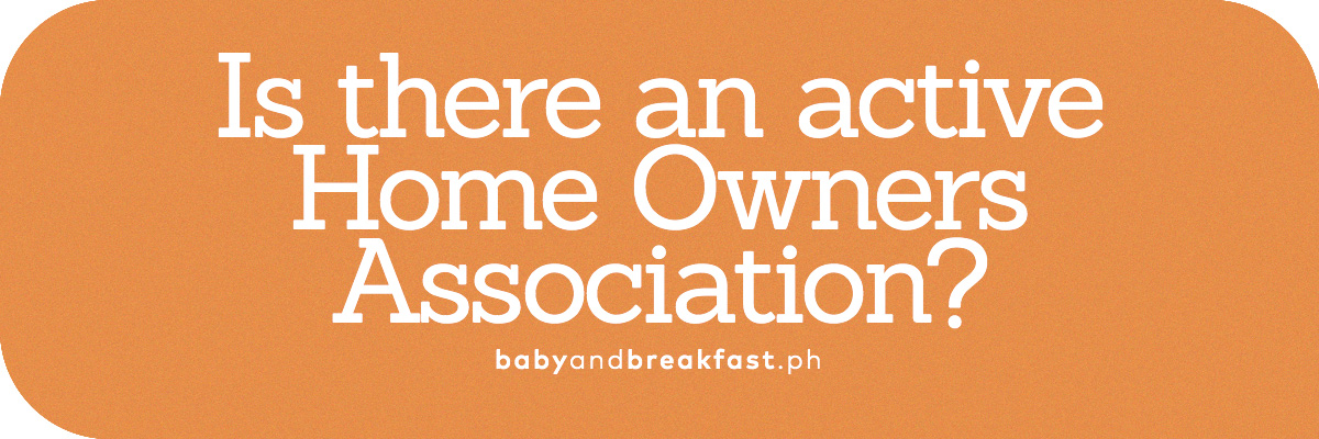 Is there an active Home Owners Association?