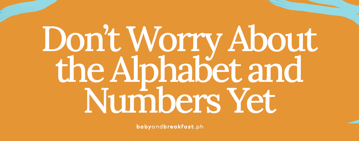 (Layout) Don't Worry About the Alphabet and Numbers Yet