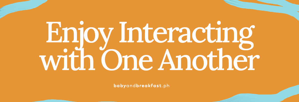 (Layout) Enjoy Interacting with One Another