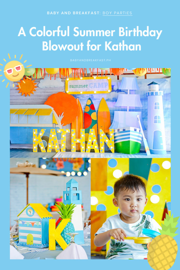 Baby and Breakfast: Boy Parties A Colorful Summer Birthday Blowout for Kathan