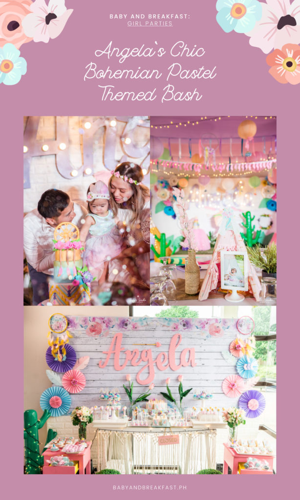 Baby and Breakfast: Girl Parties Angela's Chic Bohemian Pastel Themed Bash